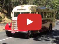 Bedford OB (1948) Bus Video