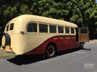 Bedford OB bus, 1946 model, drivers door open