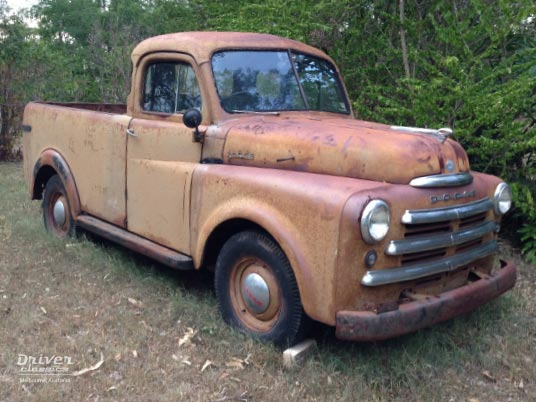 1950 Dodge Pilot House Pick Up Truck