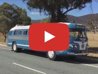 Flxible Clipper bus video, Canberra