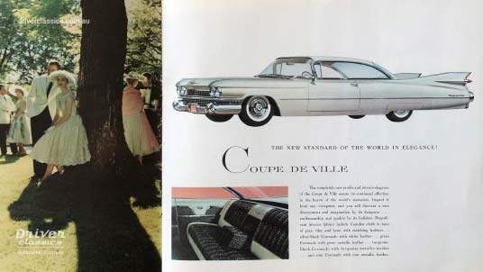 Cadillac Coupe de Ville (1959 version) brochure