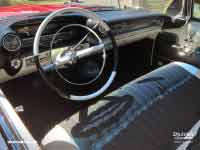 Cadillac Couple de Ville (1959 version) dashboard, Yarra Glen VIC, November 2018