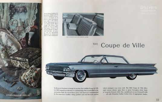 Cadillac Coupe de Ville (1961 version) brochure