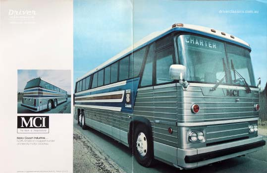 MCI MC8 bus, 1973 version, Brochure Cover