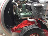Detroit Diesel 8V71 engine in Kenworth W925