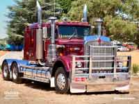 Kenworth W925 1986 version, at Lancefield VIC, Feb 2019