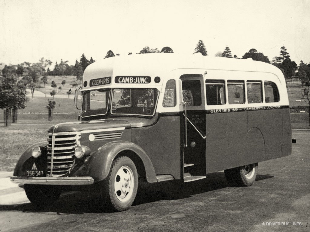 Denning double decker for sale - Camberwell Town Hall Gardens 1938 Federal Martin And King Bus Vintage Photo