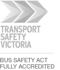 Transport Safety Victoria - Fully Accredited under the Bus Safety Act